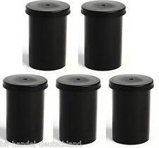 5 Stück Geocaching Filmdose schwarz Cache Versteck Safe Basteln Rascheldose 5