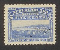 NEWFOUNDLAND #91a  MINT     12 X 12