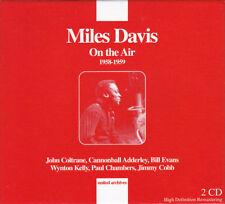 COFFRET 2 CD - MILES DAVIS - ON THE AIR