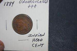 1884     UNC+++   INDIAN HEAD CENT
