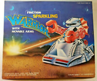 Vintage Friction Sparkling Warriors with Movable Arms, in Retail Display Box NEW
