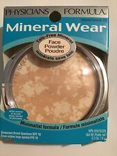 (1) Physicians Formula Mineral Wear Face Powder SPF 16, Translucent 3835