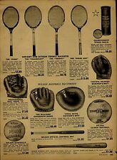 1951 PAPER AD Wilson Ted Williams Autograph Model Baseball Glove 2 3 Finger