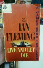 Live and Let Die by Ian Fleming (1954, Paperback) 007 James Bond Thriller