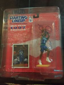 Stephon Marbury signed/ Autographed 1997 Starting Lineup.. Very RARE