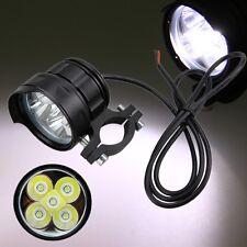 50W Motorrad 5x XML T6 LED Lampe Licht Zusatzscheinwerfer Fernlicht Scheinwerfer