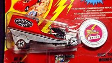 1993 JOHNNY LIGHTNING MOVIN' VAN RED COMMEMORATIVE LIMITED EDITION CHALLENGER