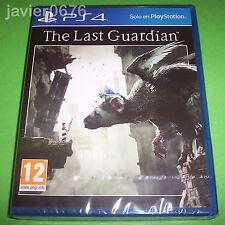 THE LAST GUARDIAN NUEVO Y PRECINTADO PAL ESPAÑA PLAYSTATION 4 PS4