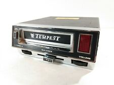 Vintage Tempest Car Stereo 8 Track Player Untested