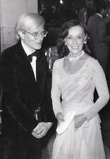 Andy Warhol Paulette Goddard Original Vintage 1974