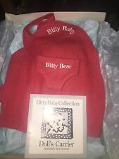 American Girl Bitty Baby Bitty Bear Doll Carrier Retired ** Pleasant Company**