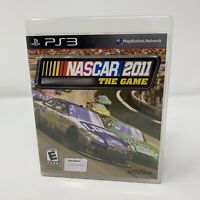 NASCAR The Game 2011 Sony PlayStation 3 PS3 Game Complete With Manual Tested