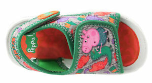 George Pig Green Summer Beach Holiday Sandals UK Sizes Child 5-10