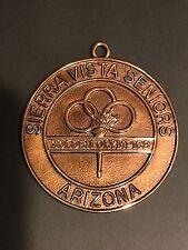 Sierra Vista AZ Seniors Golden Olympics Medallion
