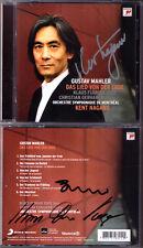 Kent NAGANO, Klaus Florian VOGT, GERHAHER Signed MAHLER Das Lied von der Erde CD