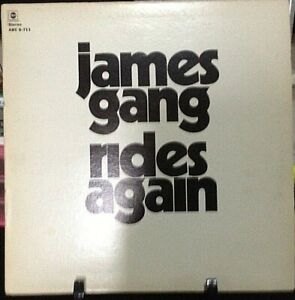 JAMES GANG James Gang Rides Again Album Released 1970 Vinyl Collection USA