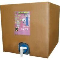 BRAKE & CLUTCH FLUID DOT 4 - 20L  LITRES BOX Superior Quality Silver Hook - Tap