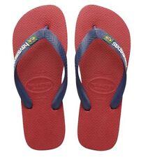 Sandali e scarpe rosse Havaianas per il mare da uomo