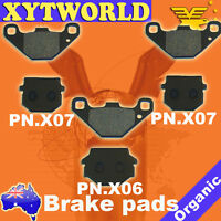 FRONT REAR Brake Pads for Yamaha YFM 300 B/D Grizzly 2012-2013