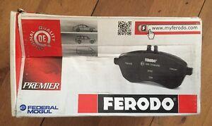 FERODO 4 PLAQUETTES DE FREINS AVANT NEUF @ REF FDB880 @ RENAULT ESPACE @ N431