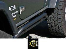 Pedane Sottoporta Nero Protezione Fianchi 2 Porte Laterale Jeep Wrangler Jk 07 -