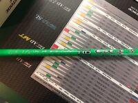 Matrix Neon Lime Green Red Tie 6Q3 Stiff Flex Graphite Wood Shaft Adapter $375