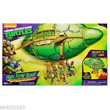 "TEENAGE MUTANT NINJA TURTLES 30"" HIGH FLYIN BLIMP VEHICLE LEO MIKEY RAPH DONNIE"