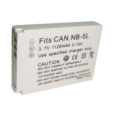 NB-5L 1120mAh Replacement Battery for CANON Powershot SD900 SD950 IS Digital Cam