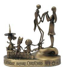 Tim Burton Nightmare Be4 Christmas Jack, Sally, Lock. Shock, Barrel  Bronze