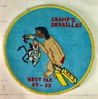 Original vintage NAVY Helicopter Squadron patch  HC-1 WESTPAC 61-63