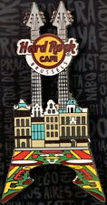 Hard Rock Cafe BRUSSELS 2017 Grand Place Facade Guitar PIN - HRC #96261