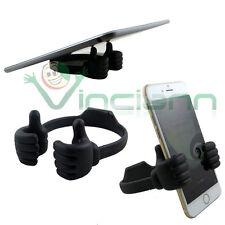 Supporto tavolo OK STAND mano flessibile NERA per Nokia Lumia 1020 1320 1520 SB1
