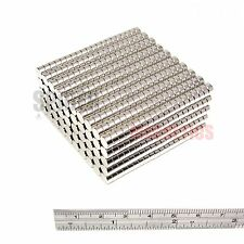 1000 Magnets 6x3 mm Neodymium Disc small round magnet 6mm dia x 3mm craft fridge