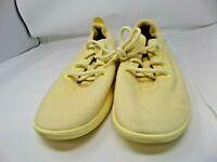 Allbirds Wool Runners Men's Size 11, Yellow /Yellow  Sole