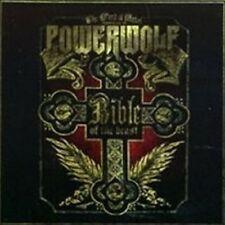 "POWERWOLF ""BIBLE OF THE BEAST"" CD 12 TRACKS NEW"