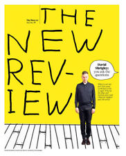 Observer New Review 29 April 2018 DAVID SHRIGLEY Cover & Illustrations Special