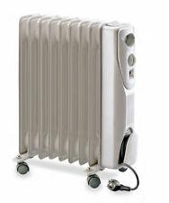 Stufa Radiatore Termosifone Calorifero Elettrico ad Olio 9 elementi Termostato