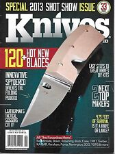 Knives magazine Spyderco Leatherman tactical scissors DIY kits Browning Gerber