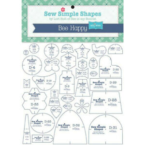LORI HOLT BEE HAPPY SEW SIMPLE SHAPES by Lori Holt