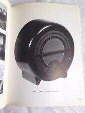 RARE Modernist Catalog Spirit '30s Paul Nash Ekco Radio Henry Moore Hepworth 84