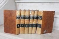A.Joly de Choin - instructions sur le rituel en 6 tomes reliés (complet)