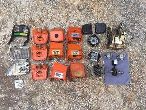 044 / 440 Stihl Parts- Cylinder, Piston and Crank, Flywheels, Case, etc.