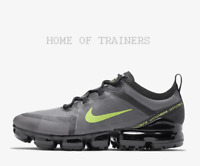Nike Air VaporMax 2019 Black Wolf Grey Volt Men's Trainers All Sizes
