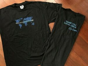 VINTAGE DEADSTOCK 2001 ERIC CLAPTON WORLD TOUR WINTERLAND ROCK T SHIRT XL TEE