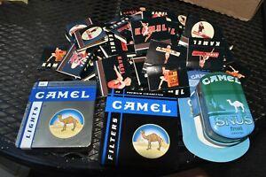 Camel Cigarettes + Snus Tin 38 Kamel Unused Matchbook Lot Pinup Girls