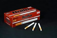 600 ROLLO RED ULTRA SLIM Regular Tobbacco Cigarrette filter Tubes