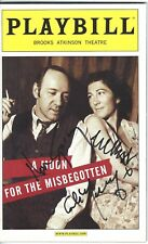 Kevin Spacey, Eve Best & Colm Meaney signed Moon For The Misbegotten Playbill
