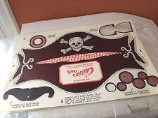 Vintage Captain Cove's Restaurant Punch Out Hat as shown Dallas Texas