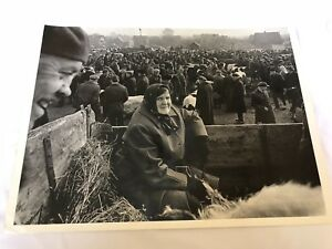 "Algirdas Pilvelis 1969 Lithuania black & white Art Photograph ""Lithuanian Fair"""