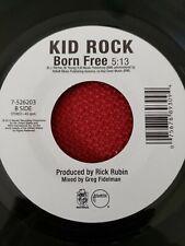 Kid Rock 45 Born Free classic rock jukebox LIMITED PRESSING MINT unplayed